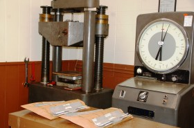 Tensile Tests Performed In Laboratory