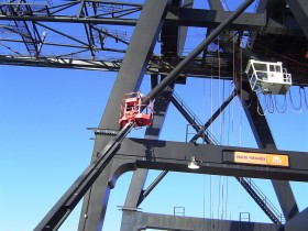 Structural Examination on Large Crane