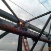 Weld Examination Of Large Truss