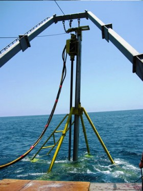 Offshore Vibracore Unit